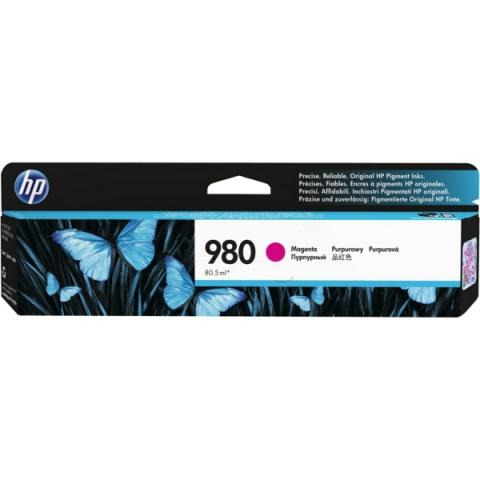 HP D8J08A Tintenpatrone HP980 mit 80,5 ml für