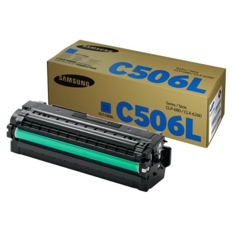 Samsung CLT-C506L , ELS Toner, original mit