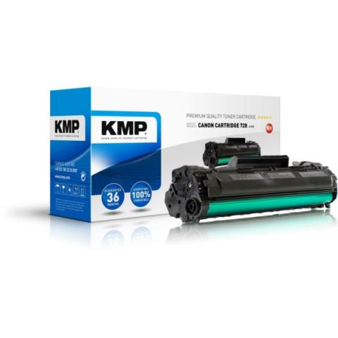 KMP Toner, recycelt, ersetzt Cartridge 728 für