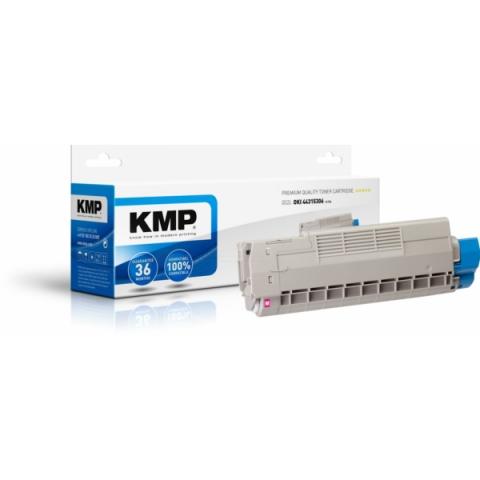 KMP Toner, recycelt, f�r Oki
