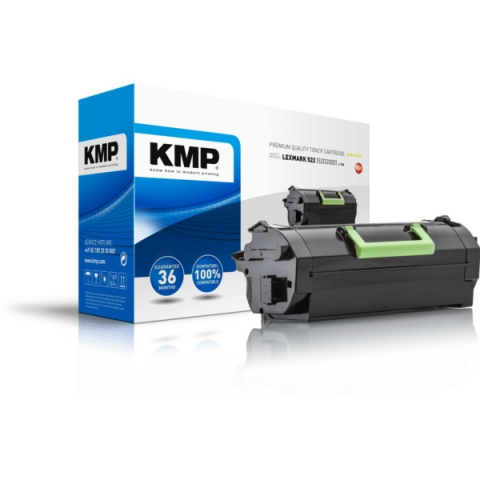 KMP Toner, ersetzt 52D2000 für Lexmark MS710 ,