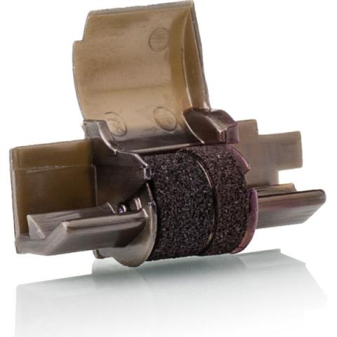 KMP Farbrolle für Epson IR 40 T, schwarz , red