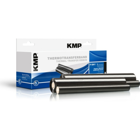 KMP Thermo-Transfer-Rolle MIT CHIP, 2 x 140