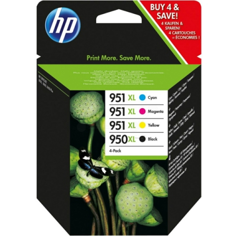 HP Multipack Druckerpatronen HP 1 x 950XL black