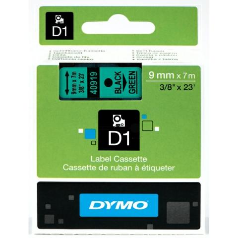 Dymo DYMO Schriftband D1 40919 schwarz , grün