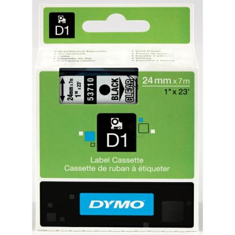 Dymo DYMO Schriftband D1 53710 schwarz ,