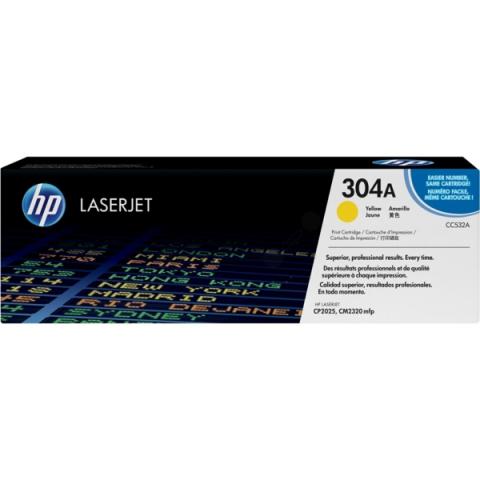 HP CC532A Toner original HP für ca. 2.800