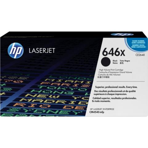 HP CE264X Toner passend f�r Color Laserjet