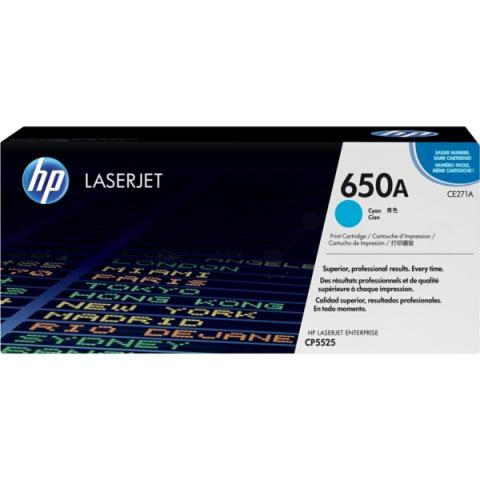 HP CE271A Toner HP für ca. 15.000 Seiten, cyan