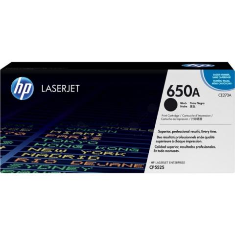 HP CE270A Toner HP für ca. 13.500 Seiten,