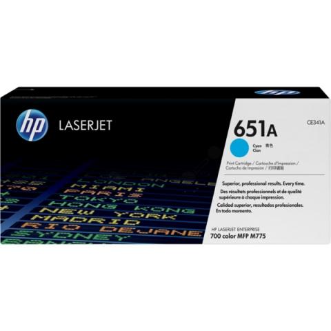 HP CE341A Toner HP 651A, für ca. 16.000 Seiten ,