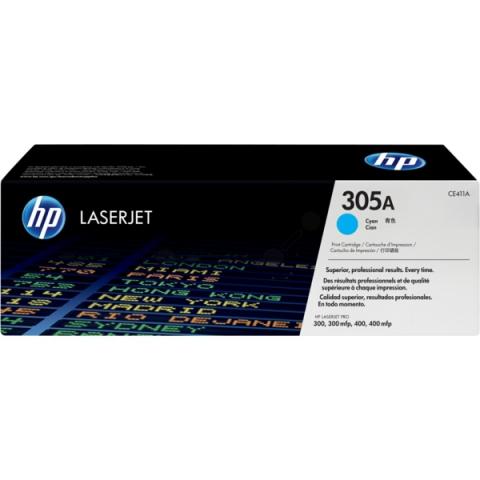 HP CE411A Toner HP 305A für ca. 2.600 Seiten,