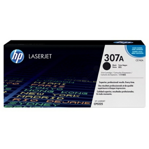 HP CE740A original HP Toner für Color Laserjet