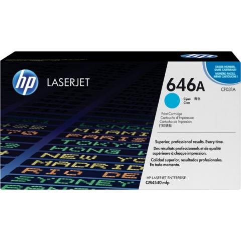 HP CF031A Toner passend f�r Color Laserjet