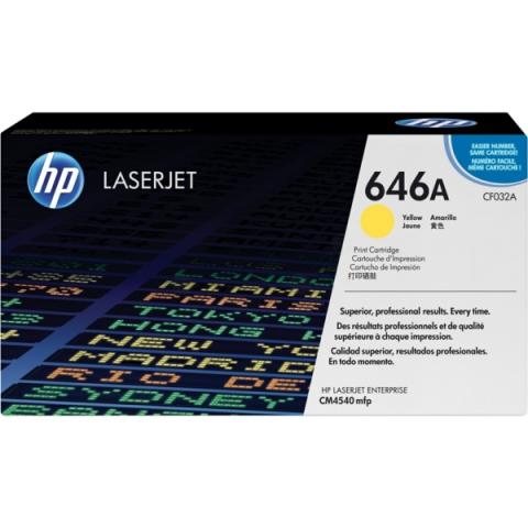 HP CF032A Toner passend für Color Laserjet