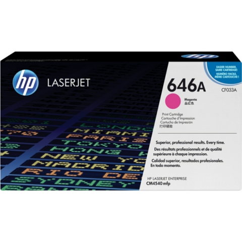 HP CF033A Toner passend f�r Color Laserjet