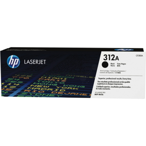 HP CF380A Toner für Color Laserjet Pro MFP M476,