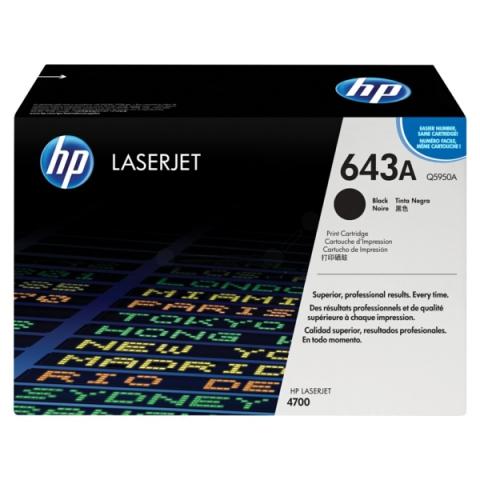 HP Q5950A Toner f�r HP Color Laserjet 4700 ,