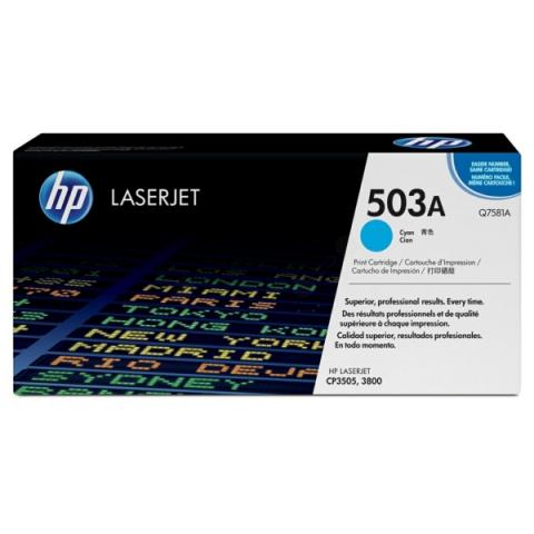 HP Q7581A Toner für ca.6.000 Seiten für HP Color