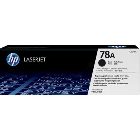 HP CE278A Toner für Laserjet P1566 , 1601 , 1602
