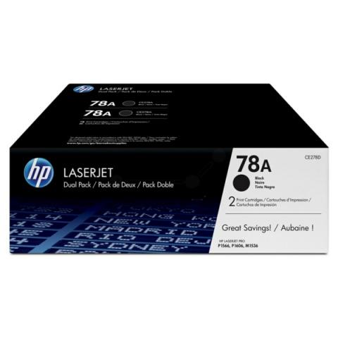 HP CE278AD HP LJ P1566 Toner Doppelpack 2x2100