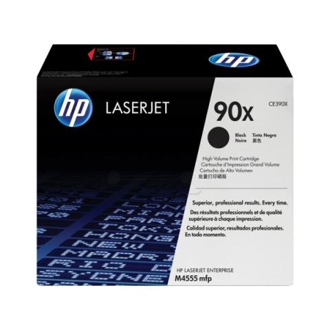 HP CE390X Toner HP für ca. 24.000 Seiten, black