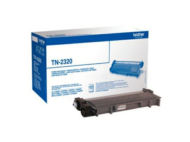 TN-2320 Toner für TN-2320 XL für ca. 2.600 Seiten passend für Brother HL-L2300 / DCP-L 2500 /