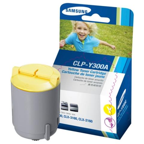 Samsung CLP-Y300A original Toner für ca. 1000