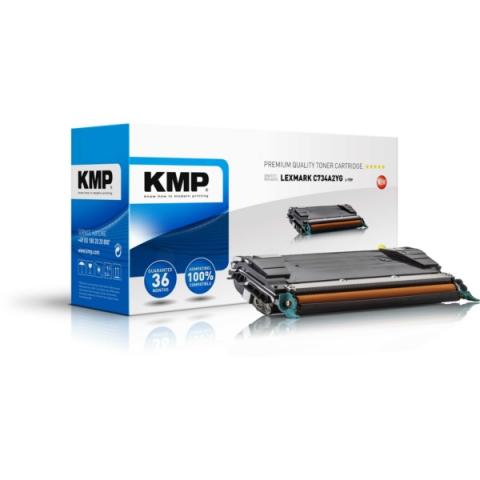 KMP Toner ersetzt C734A2YG für Lexmark