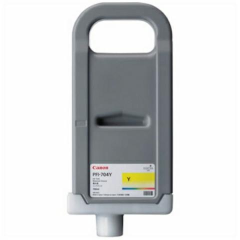Canon Tintenpatrone PFI-704Y mit für ca. 700 ml