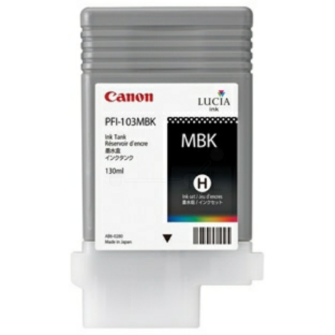 Canon Original Tintenpatrone PFI-103MBK mit 130