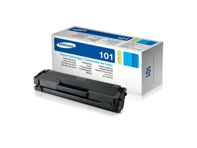 MLT-D101S Toner, original Samsung mit einer Reichweite von ca. 1.500 Seiten, black