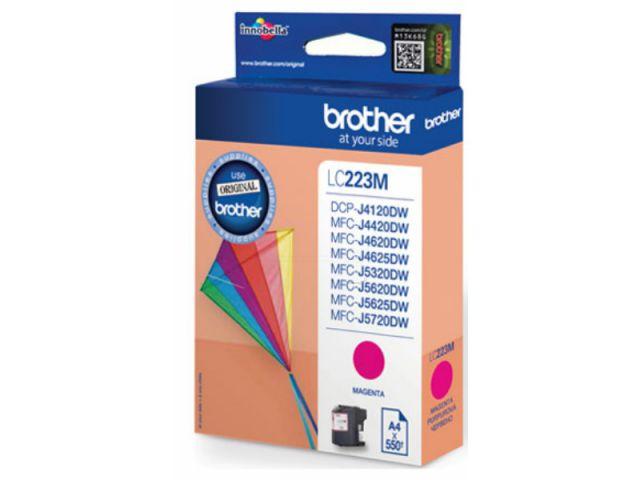 LC223M original Druckerpatrone mit einer Kapazität von für ca. 550 Seiten nach ISO / IEC 24711,