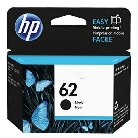 HP C2P04AE Druckerpatrone HP NO 62 für ca. 200