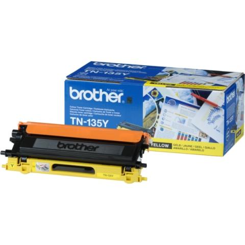 Brother TN-135Y Toner für 4.000 Seiten für