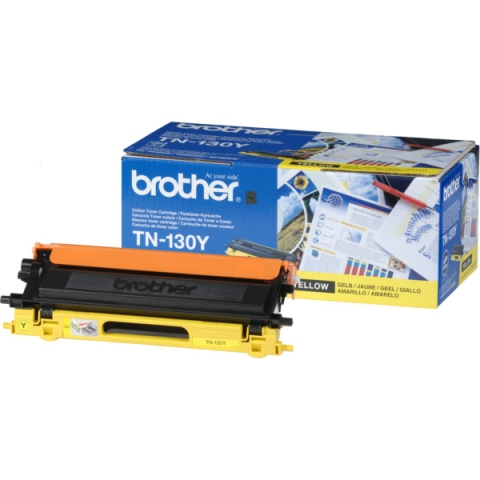 Brother TN-130Y Toner f�r 1.500 Seiten f�r HL