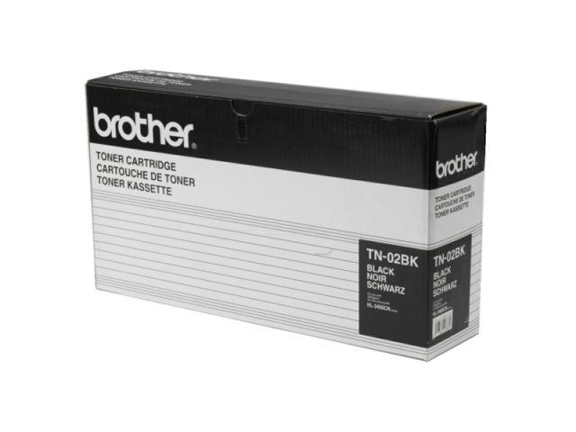 TN-02BK Toner für Brother HL 3400 / 3450 schwarz
