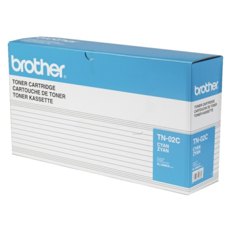 Brother TN-02C Toner für HL 3400 , 3450 cyan