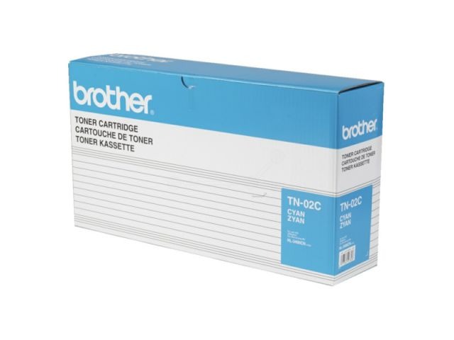 TN-02C Toner für Brother HL 3400 / 3450 cyan