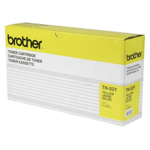 Brother TN-02Y Toner für HL 3400 , 3450 gelb