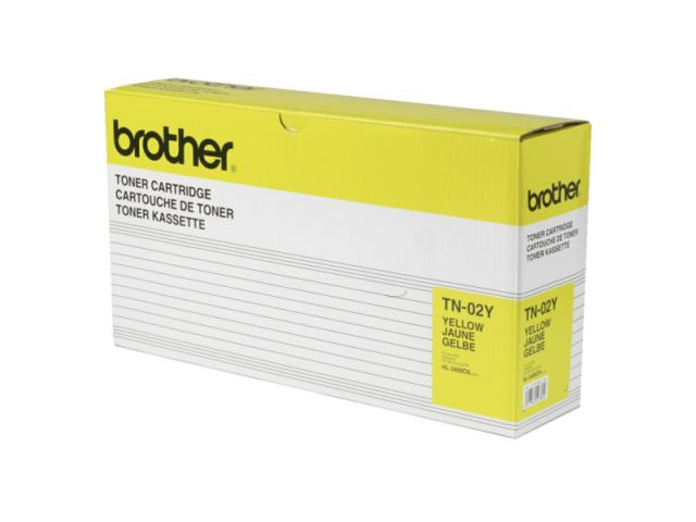 TN-02Y Toner für Brother HL 3400 / 3450 yellow