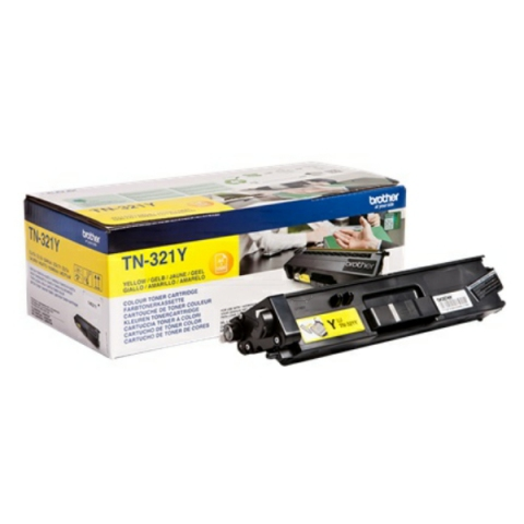 Brother TN-321Y Toner f�r 1.500 Seiten f�r