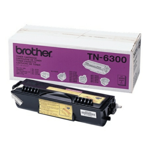Brother TN-6300 Toner für ca. 3.000 Seiten für