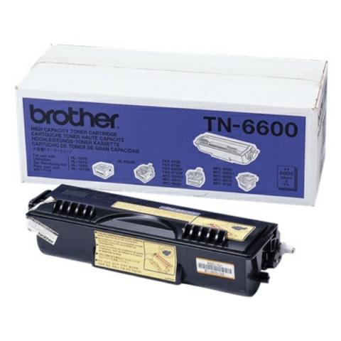 Brother TN-6600 Toner f�r ca. 6.000 Seiten f�r