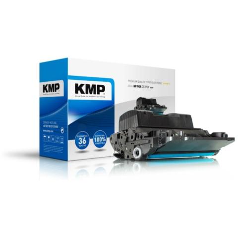 KMP Toner, recycelt, ersetzt HP 90X , CE390X für