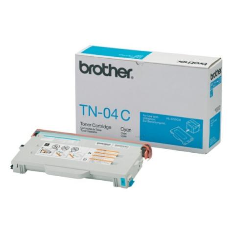 Brother TN04C Toner für ca 6.600 Seiten passend