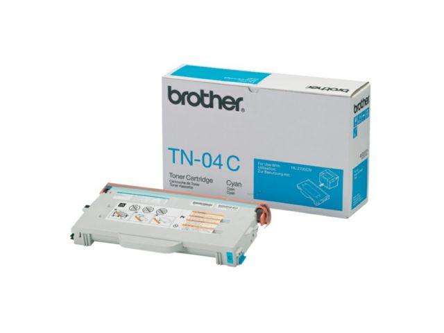TN04C Toner für ca 6.600 Seiten passend für Brother HL-2700 / 2700CN / MFC 9420 CN, cyan