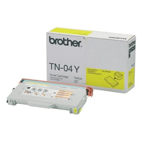 Brother TN04Y Toner für ca 6.600 Seiten passend