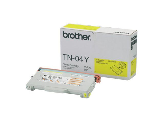 TN04Y Toner für ca 6.600 Seiten passend für Brother HL-2700 / 2700CN / MFC 9420 CN, gelb