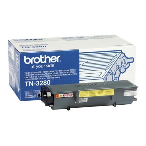 Brother TN-3280 Toner -Kit für ca. 8000 Seiten